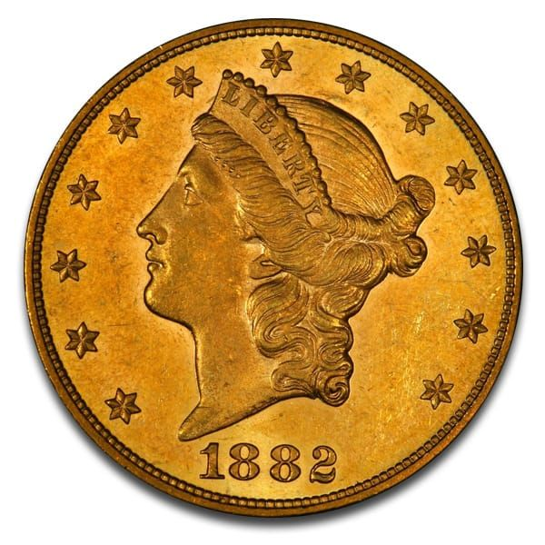 Money Metals Exchange Offers U.S. Liberty 20 Dollar Gold Coins Dating between 1849 & 1907. Buy Historic Gold Coins at just above Melt Value. Order Securely Online 24/7!