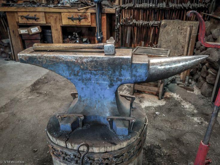 Awesome anvil to work on blacksmithing pinterest
