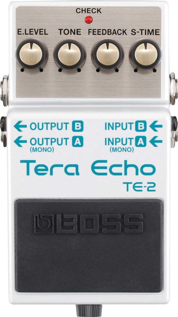Boss TE-2 Tera Echo Delay/Reverb Guitar Effects Pedal
