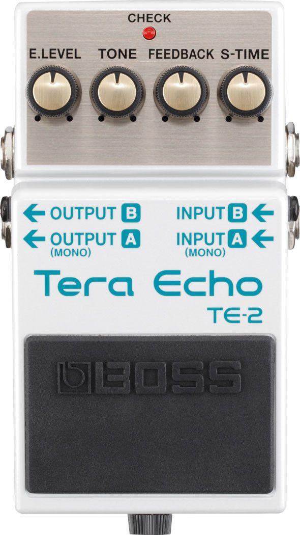Boss TE-2 Tera Echo Delay/Reverb Guitar Effects Pedal