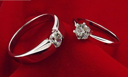 Cheap CZ Sterling Silver Wedding Ring Sets for Men & Women ...