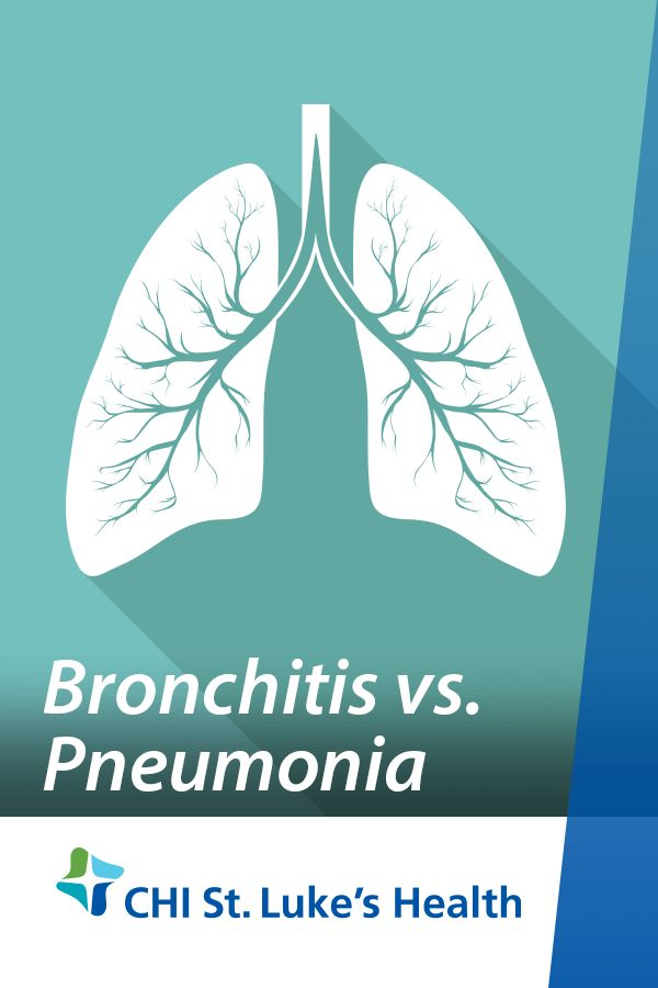 Do you know the difference between bronchitis and pneumonia? These lung conditions share many of the same symptoms, such as bothersome coughs, but the difference in severity is significant to note.