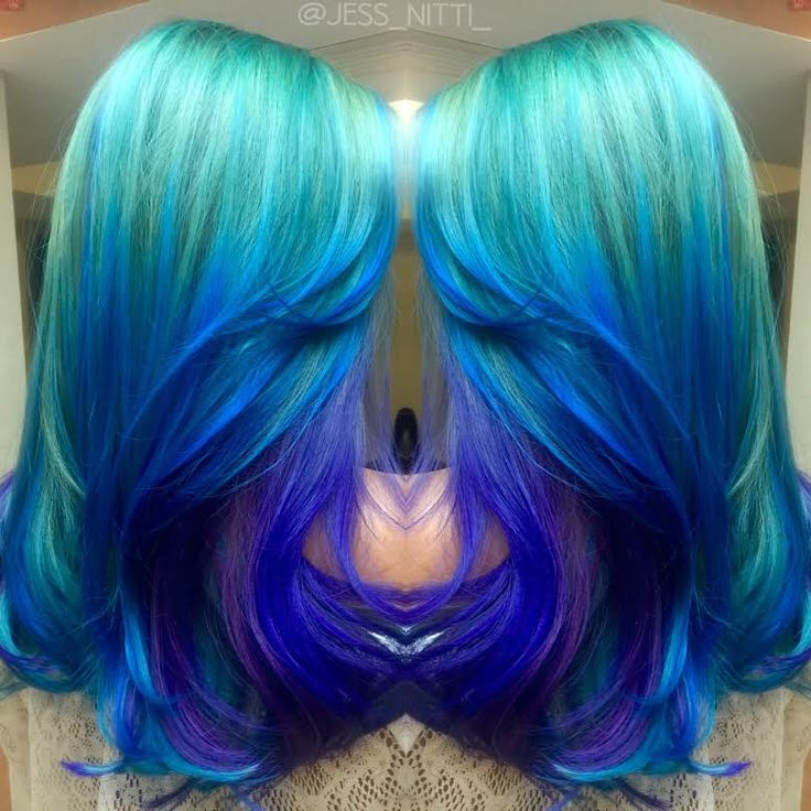 Ocean Waves One of the prettiest color melts we've seen by Jess Nitti mermaid…                                                                                                                                                                                 More