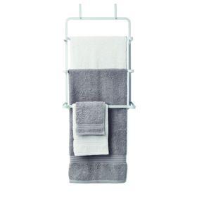 Over-The-Door Towel Rack - White