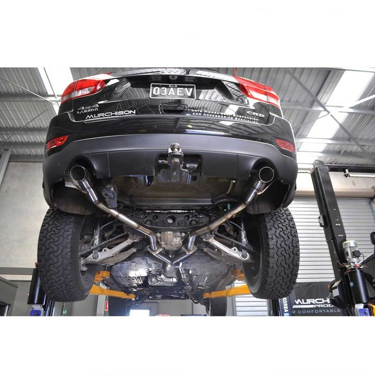 Murchison WK2 Grand Cherokee 2011+ Exhaust System | Murchison Products - Full Mechanical Work, Premium Suspension Systems, Bull Bars, Wheels, Accessories for Jeep, Dodge Ram, 4x4's