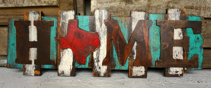 Home TX Wall Art - Sofia's Rustic Furniture