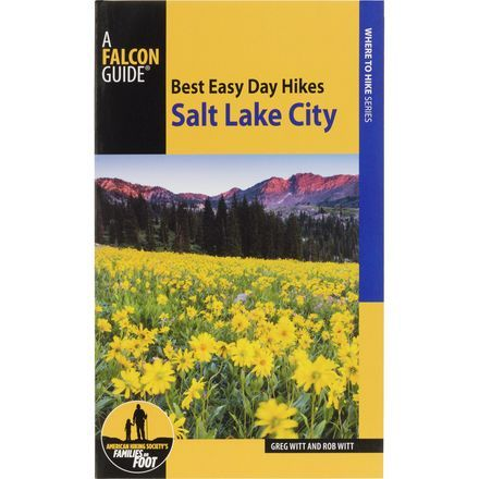 What a perfect coincidence that you've been reading the Falcon Guides Best Easy Day Hikes: Salt Lake City-3rd Edition book on your flight, and then get stuck with an all-day layover in that very city.