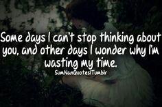 I wonder how...