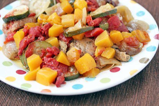 Slow Cooker Mango Chicken Recipe - perfect for mango season!