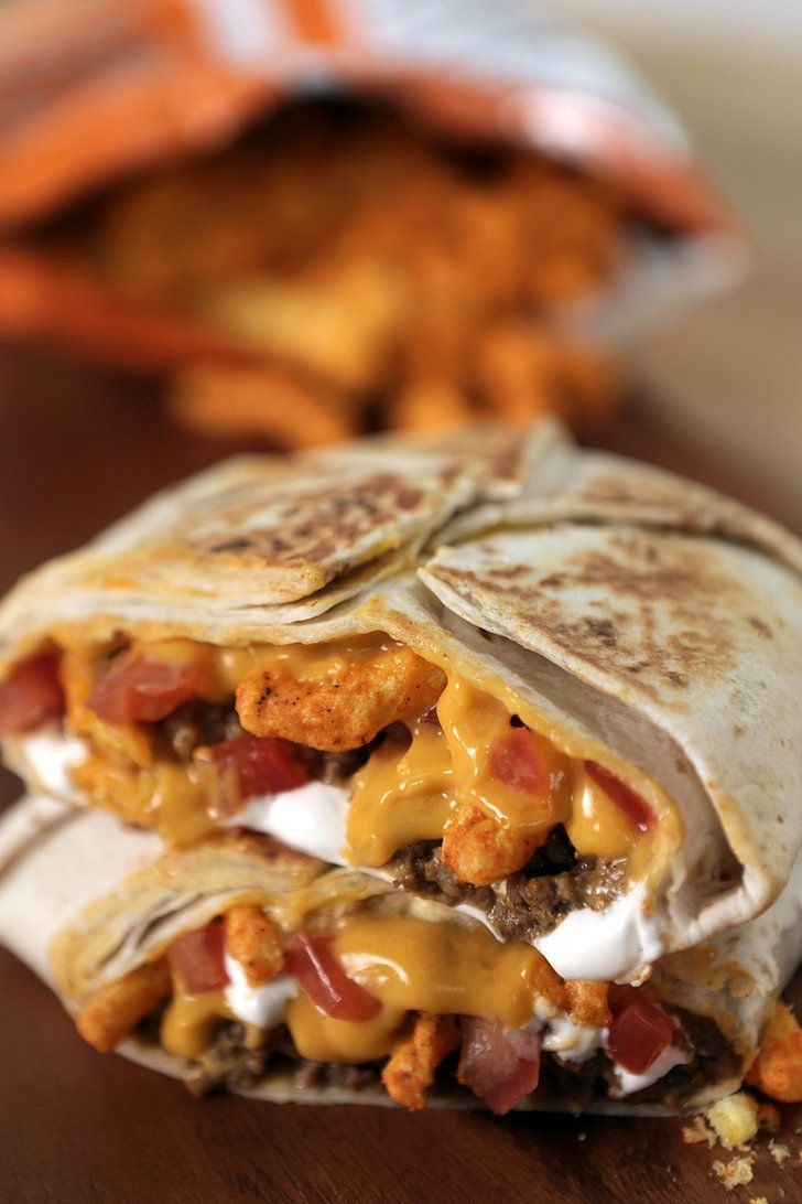 The Best Drunk Food Decision: This Taco Bell Cheetos Crunchwrap Hack