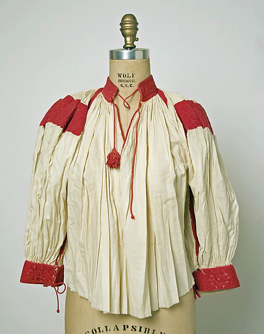 Blouse  Date:     1815 Culture:     Hungarian