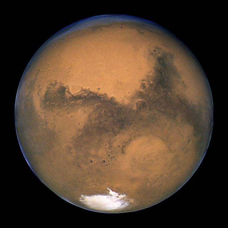 Length Of A Day in Mars: 24 hrs, 39 min and 35 sec