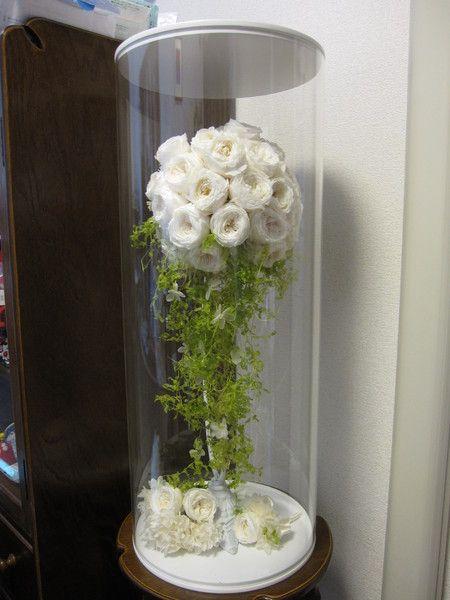 プリザーブドブーケの保存の方法について  : 一会 ウエディングの花