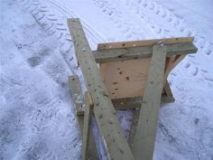 Homemade Deer Stands | Excalibur Crossbow Forum • View topic - Portable deer stand pics