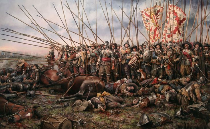 (1618) the Thirty years war was fought in Germany and Europe, the biggest casualty in Europe history.