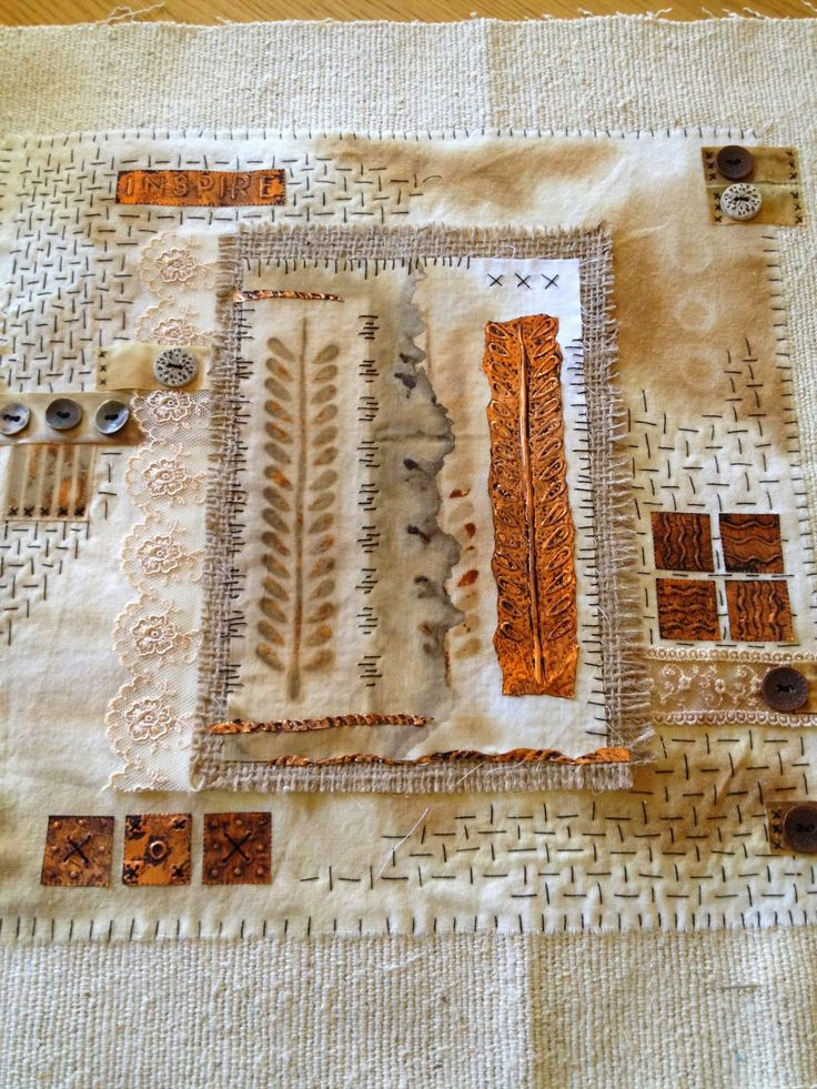 Yours Artfully: Rusty Fabric