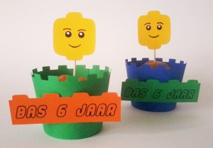 lego cupcake wrappers