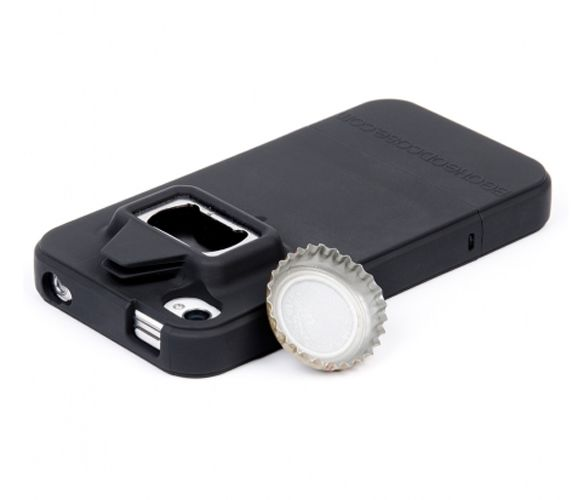 A must for my brother - iDrink for iPhone - built in bottle cap opener.Open Cases, Golf Iphone Cases, Bottle Cap, Bottle Open, Gift Ideas, Idrink Iphone, Phones Cases, Iphone 4 Cases, Christmas Gift