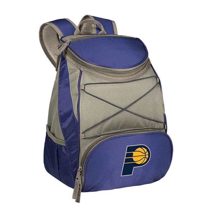 Picnic Time Indiana Pacers PTX Backpack Cooler, Blue (Navy)