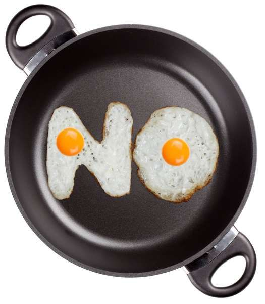 'Handmade Font' Studio's Fried Egg Font is a Brilliant Example of Typography #food #typography