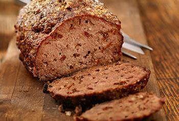 Recept voor Toscaans gehaktbrood met zongedroogde tomaatjes en olijven | Solo Open Kitchen