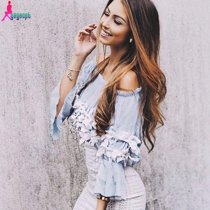 blouse off shoulder aliexpress