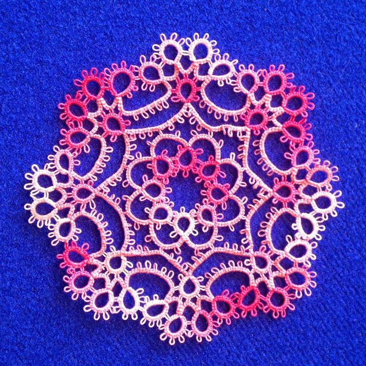 30 Days of Tatting, Day 10 | ~ Aunt Monica's Attic ~