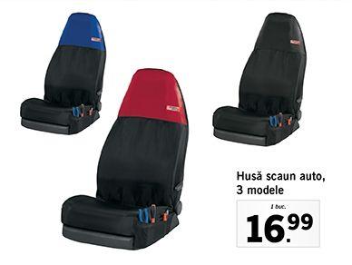 Husă scaun auto,  3 modele
