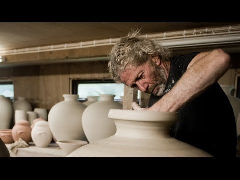 Making Large Pots by Svend Bayer, visit goldmarkart.com