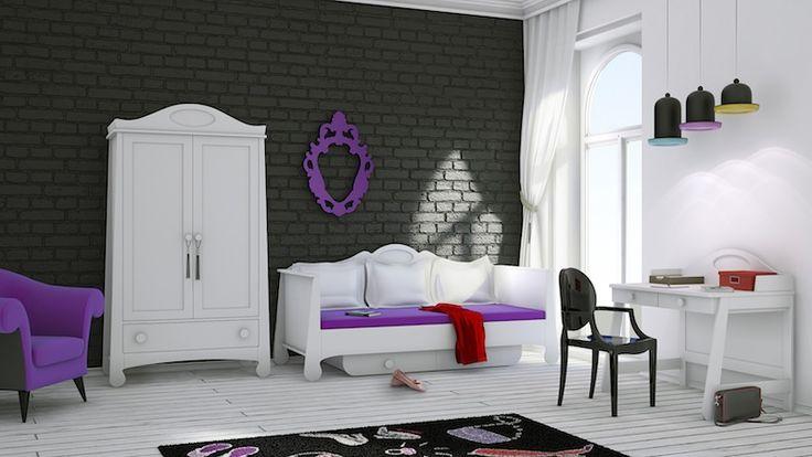 Pokój nastolatka nie musi być nudny! Zobacz nasze propozycje na ładne pokoje młodzieżowe.
