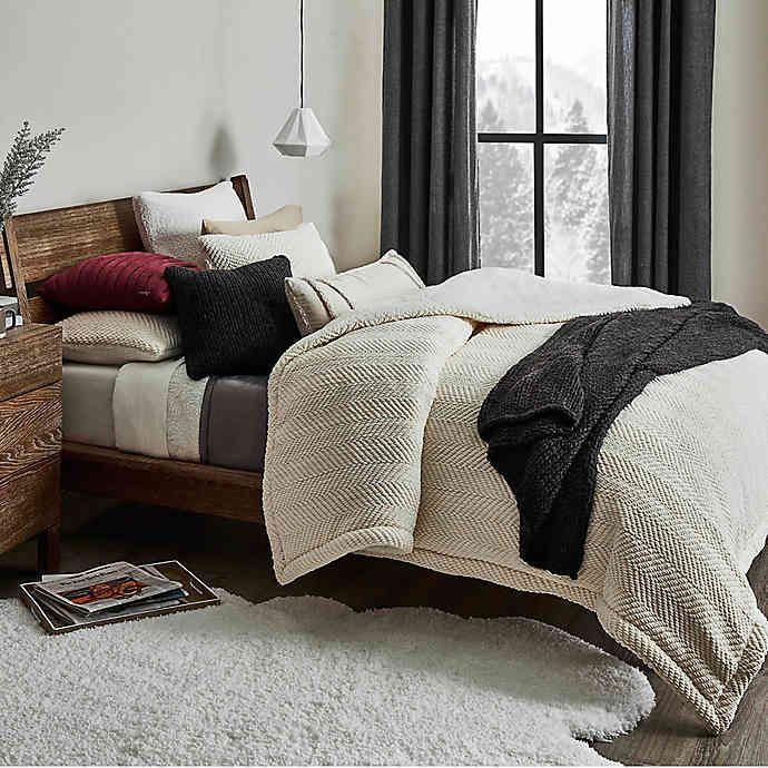 ugg brea reversible comforter set