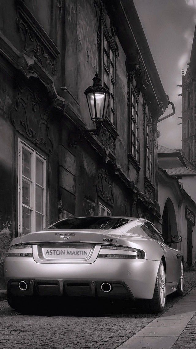 Aston Martin Dbs Rear View Android Iphone Wallpaper Background