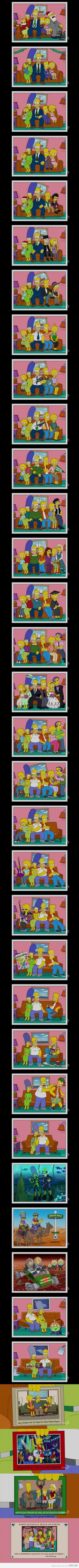A few simpson's christmas card photos: Christmas Cards, Simpsons Christmas, Stuff, The Simpsons, Funny