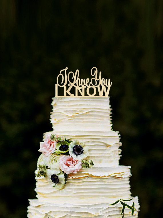 The 25 best star wars wedding cake ideas on pinterest superhero star wars inspired wood cake topper i love you i know will bring you an opportunity junglespirit Choice Image