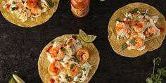 Spicy Shrimp Tacos with Creamy Slaw Recipe - Delish.com