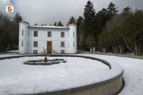 Sardegna DigitalLibrary - Immagini - Villa Piercy, foresta di Badde Salighes