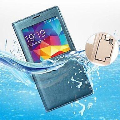 Ecranul inițial vizibil piele PU Smart Auto-somn chipset și pad rezistent la apă pentru Samsung Galaxy S5 (culori asortate) – EUR € 7.19