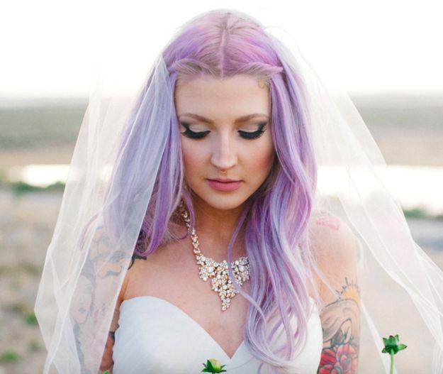 Noiva + Cabelo Colorido