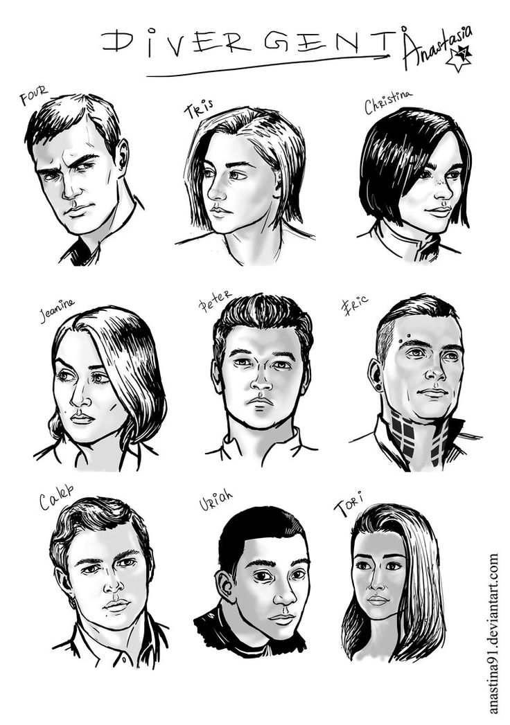 Divergent by Anastina91 on DeviantArt