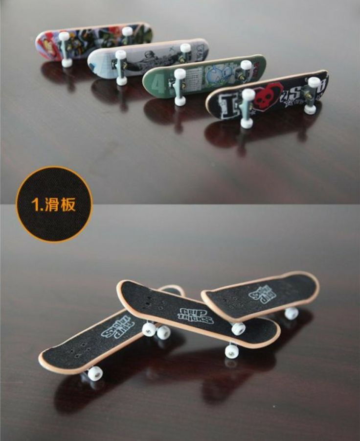 tech deck finger skateboards wholesale customized printed