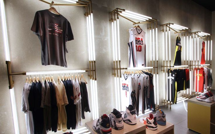 Pop Up store located in Barcelona during the Olympic Games held in London 2012 .