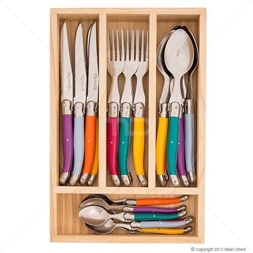 Laguiole - Louis Thiers 24 Pce Cutlery Set