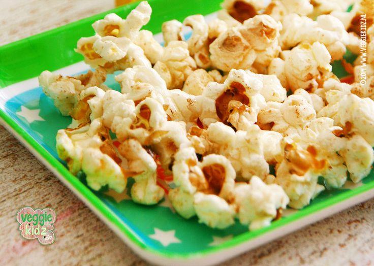 5 smaakvolle snoepideeën zonder geraffineerde suikers! E-nummers en smaakstoffen #gezond #vegetarisch #trakteren #verjaardag #popcorn #kaneel