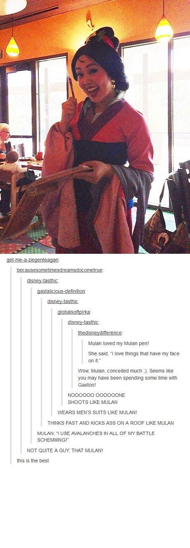 Mulan awesomeness