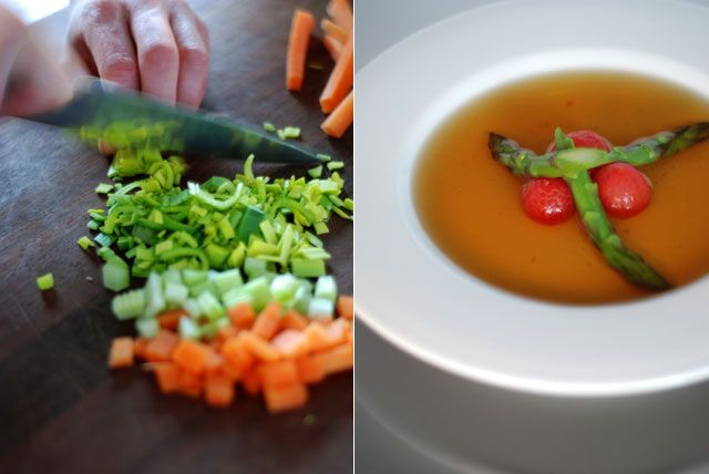 Chicken consommé « Cooking Blog – Find the best recipes, cooking and food tips at Our Kitchen.
