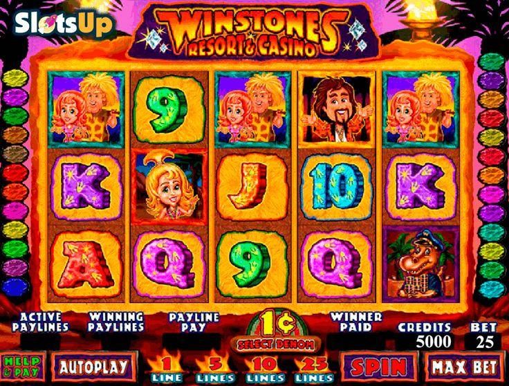 Winstones Resort and Casino Slot by Genesis Gaming Play