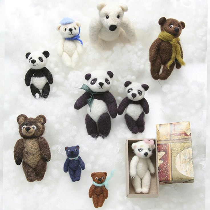 So many different bears! Please choose your bear on feltpetsshop.etsy.com
