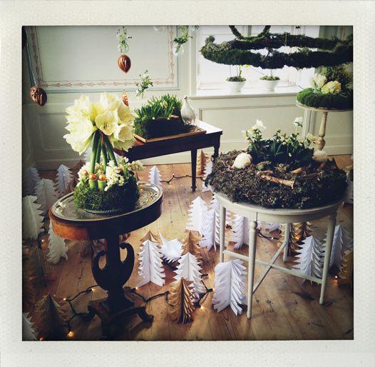 Christmas feeling at Fredriksdals herrgård in Sweden (I huvudet på Elvaelva).