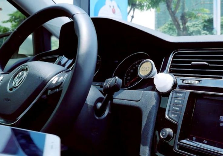Phone is a great cause of disruption while driving. So a stand on the dashboard of the car for placing the phone is a good way in which we can handle both driving and phone at the same time.