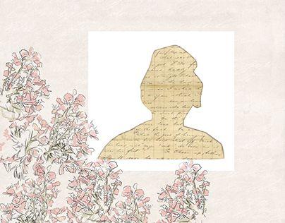 #Abuelos #Grandparents #flores #floral #dibujo #ilustración #antiguo #vintage